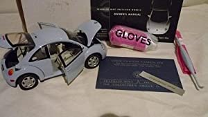 Volkswagen Vw New Beetle Vapor Blue : Limited Edition Franklin Mint : Diecast 1:24 New In Box