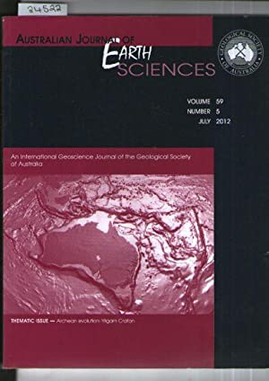 Australian Journal Of Earth Sciences - Volume 59, Number 5 July 2012
