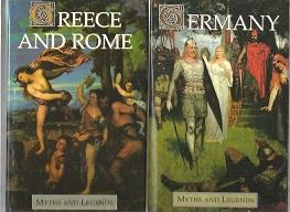 Germany. & Greece And Rome : Myths: Spence, Lewis