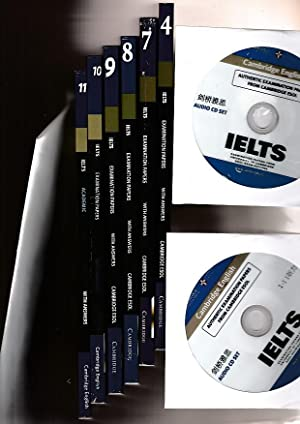 Cambridge English Ielts Academic With Answers 4, & 7, & 8, & 9, & 10, & 11 & : Authentic Examinat...