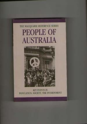People of Australia: Key Events in Population, Society, the Environment