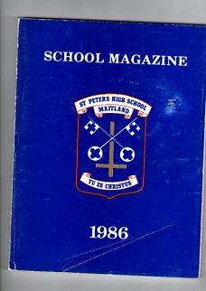St. Peter's High School Maitland Magazine 1986