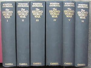 World War Two, 6 volumes;: CHURCHILL, Winston: