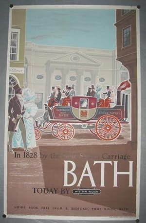 Bath poster': FRASER, Eric: