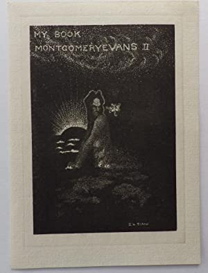 Bookplate for Montgomery Evans II;: SIME. Sidney H.: