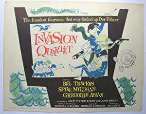 Invasion Quartet film poster;: SEARLE, Ronald: