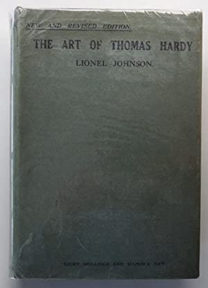 The Art of Thomas Hardy;: JOHNSON, L.:
