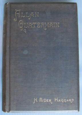 Allan Quatermain;: HAGGARD, H. Rider: