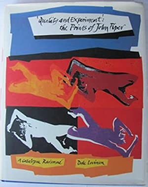 Quality & Experiment, the prints of John Piper, a catalogue raisonne;: LEVINSON, O: