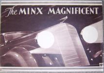 Hillman Minx Magnificent car brochure;