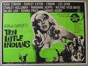Ten Little Indians poster;: CHRISTIE, Agatha: