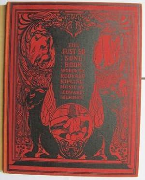 Just So Song Book;: KIPLING, Ruyard & GERMAN, Edward: