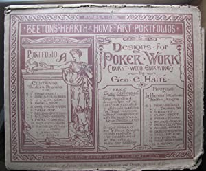 Designs for Poker Work;: HAITE, George C.:
