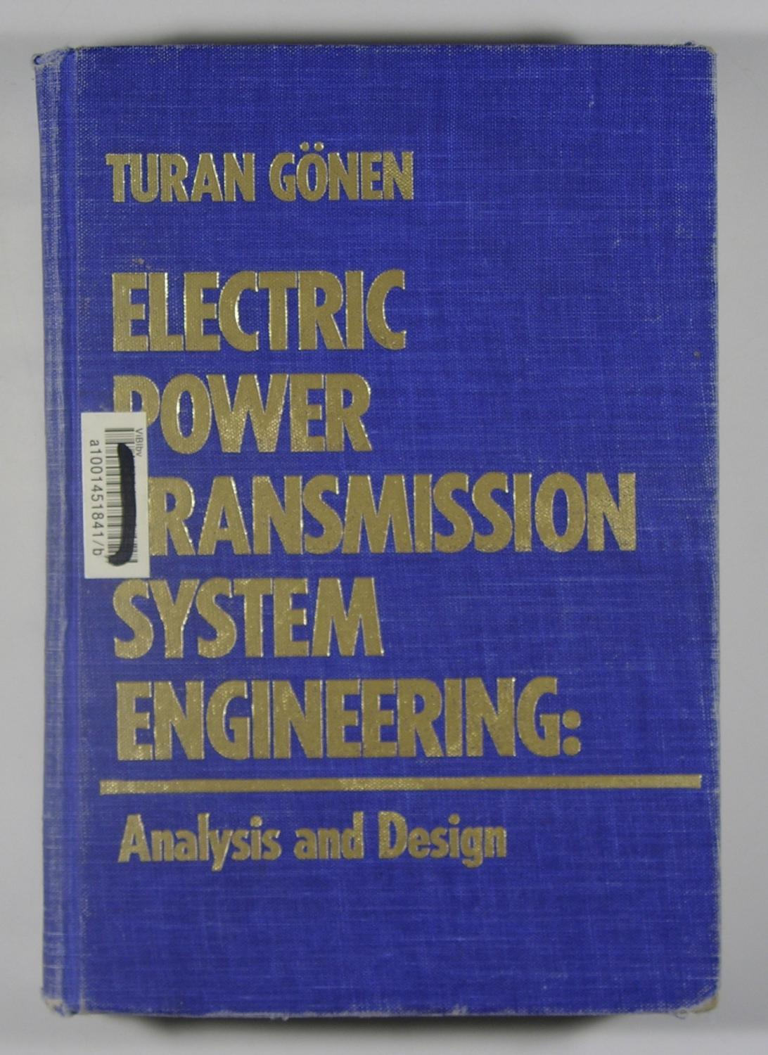 Underground Transmission Systems Reference Book