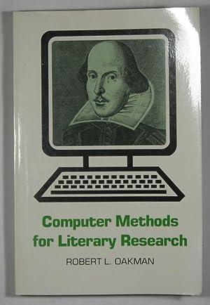 Computer Methods for Literary Research: Robert L. Oakman