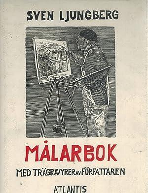 Malarbok Med tragravyrer av forfattaren: Ljungberg, Sven