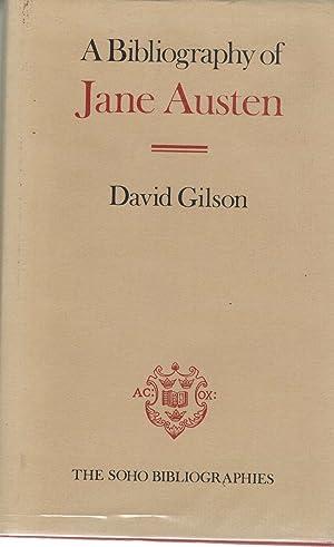 Bibliography of Jane Austen: Gilson, David