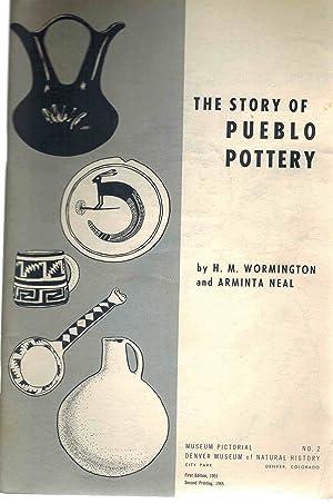 The Story of Pueblo Pottery: Wormington, H. M.;