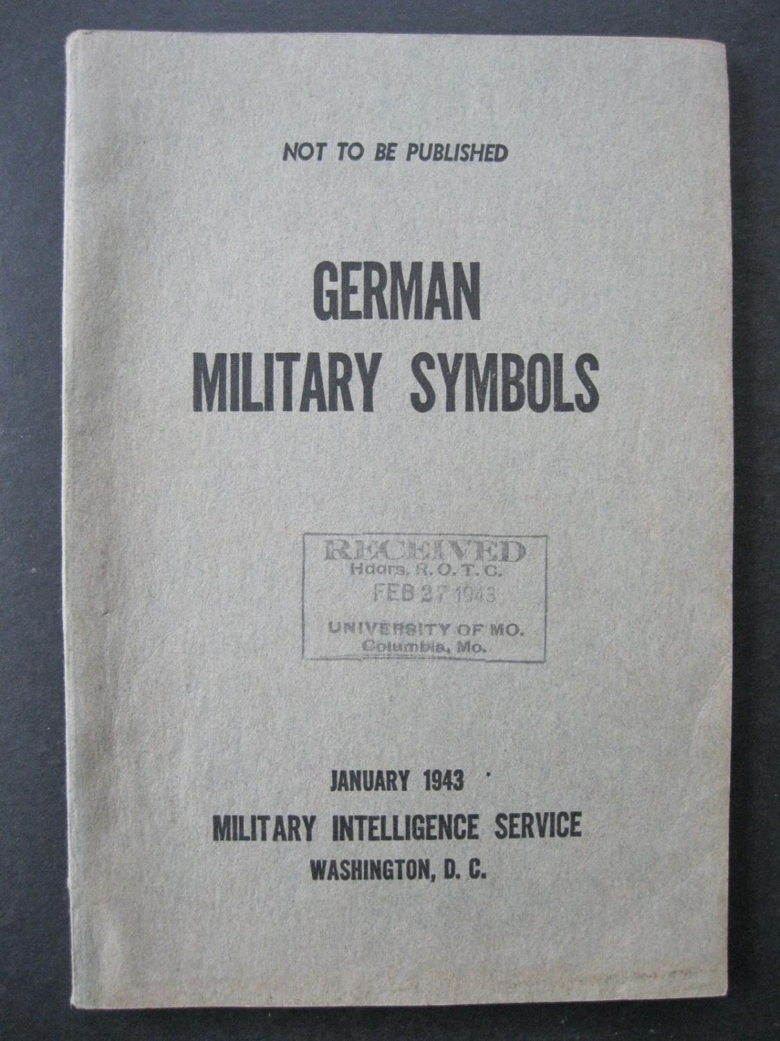 German Military Symbols By Anonymous Military Intelligence Service
