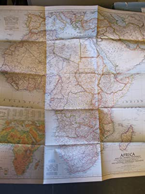 MAP - AFRICA AND THE ARABIAN PENINSULA