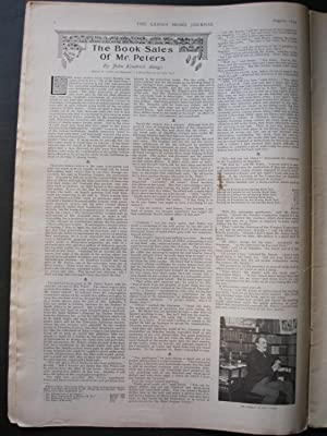 THE LADIES' HOME JOURNAL August, 1899: Bangs, John Kendrick & Beard, Dan & Hope, Anthony