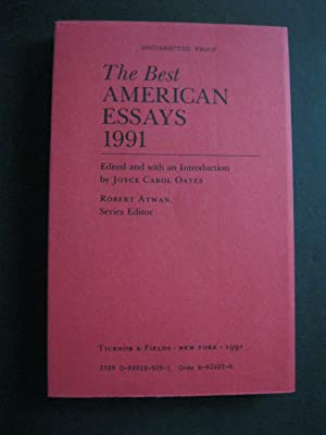 THE BEST AMERICAN ESSAYS 1991