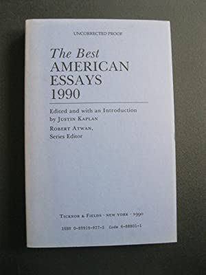 THE BEST AMERICAN ESSAYS 1990