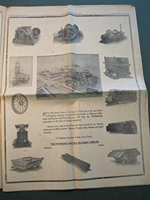 PITTSBURG DAILY HEADLIGHT - May, 1926 - 50th Anniversary Special Edition: Various