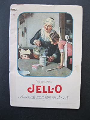 JELL-O America's Most Famous Dessert: Rockwell, Norman