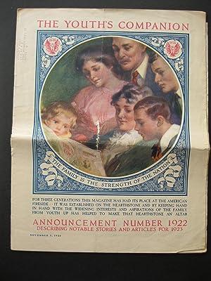 THE YOUTH'S COMPANION November 2, 1922: Stephens, C A