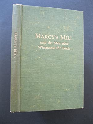 MARCY'S MILL and the Men who Winnowed: Dunbar, Horace