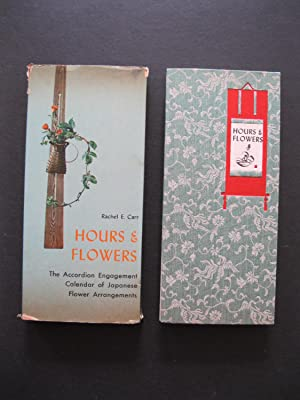 HOURS & FLOWERS The Accordion Engagement Calendar of Japanese Flower Arrangements