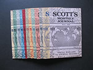 SCOTT'S MONTHLY JOURNAL - Complete 12 Month Run from May, 1929 to April, 1930