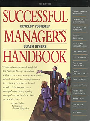 Successful Manager's Handbook: Development Suggestions for Today's Managers