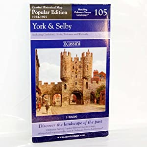 York and Selby (Cassini Popular Edition Historical Map)