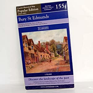 Bury St Edmunds (Cassini Popular Edition Historical Map)