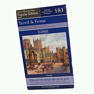 Yeovil and Frome (Cassini Popular Edition Historical Map)