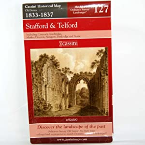 Stafford and Telford (Cassini Old Series Historical Map)