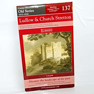 Ludlow and Church Stretton (Cassini Old Series Historical Map)