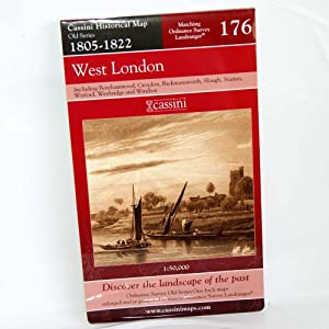 West London (Cassini Old Series Historical Map)