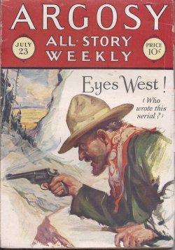"ARGOSY ALL-STORY Weekly: July 23, 1927 (""Seven: Argosy (?; Coralie"