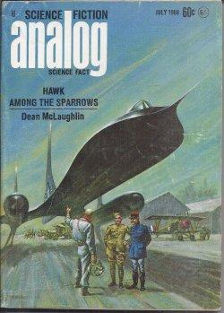ANALOG Science Fiction/ Science Fact: July 1968: Analog (Dean McLaughlin;