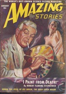 AMAZING Stories: August, Aug. 1949: Amazing (Rog Phillips; Robert Fleming Fitzpatrick; Lee Prescott...