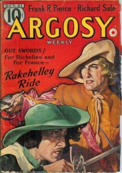 "ARGOSY: October, Oct. 21, 1939 (""Lords of Creation""): Argosy (M. R. Montgomery; Frank ..."