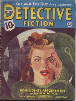 "Flynn's DETECTIVE FICTION: December, Dec. 5, 1943 (""The Saint in Trouble""): Flynn's ..."