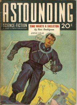 ASTOUNDING Science Fiction: June 1941: Astounding (Ross Rocklynne; Theodore Sturgeon; Nat Schachner...
