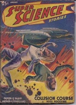SUPER SCIENCE Stories: January, Jan. 1941: Super Science (Ross Rocklynne; Dirk Wylie; Graph ...