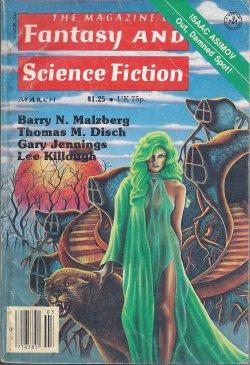 The Magazine of FANTASY AND SCIENCE FICTION: F&SF (Thomas M.