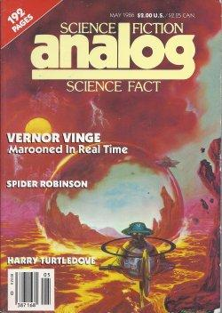 ANALOG Science Fiction/ Science Fact: May 1986: Analog (Vernor Vinge;