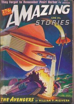 AMAZING Stories: June 1942: Amazing (William P. McGivern; P. F. Costello - aka McGivern; Emil ...